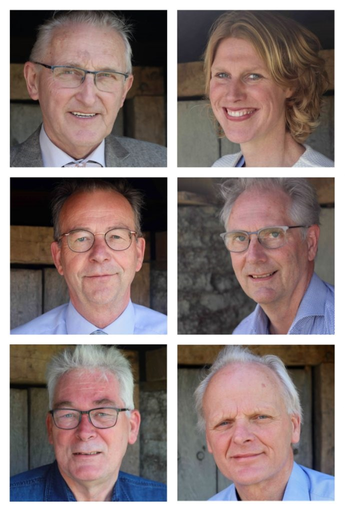 De bestuurscommissieleden